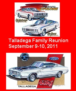 Photo of Ford Talladega Family Reunion 2011 Registration Due