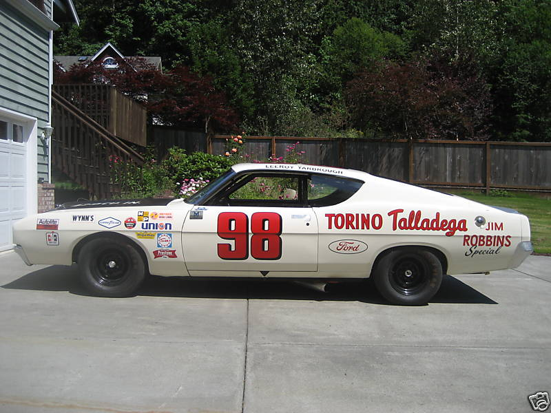 Photo of LeeRoy Yarbrough 1969 Ford Talladega Tribute Car