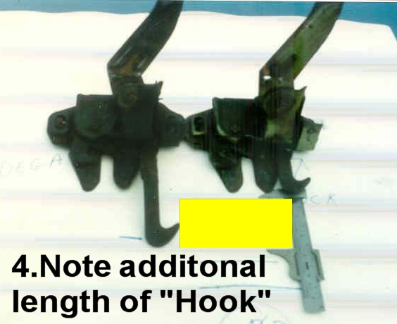 Photo of Make a Talladega or Spoiller II Hood Latch