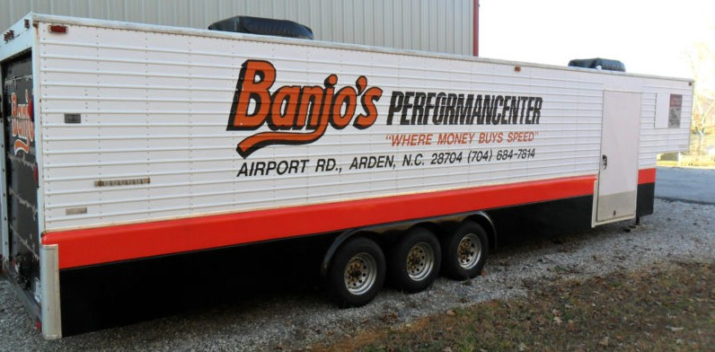 Photo of Banjo Matthews Trailer and Talladega NOS Parts For Sale