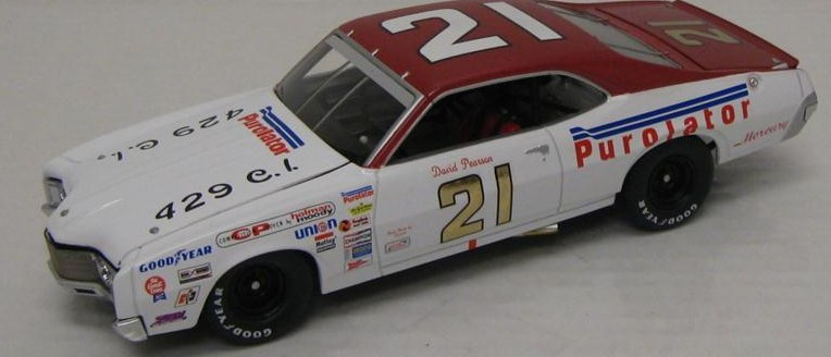Photo of 1971 David Pearson Wood Brothers' Purolator Diecast