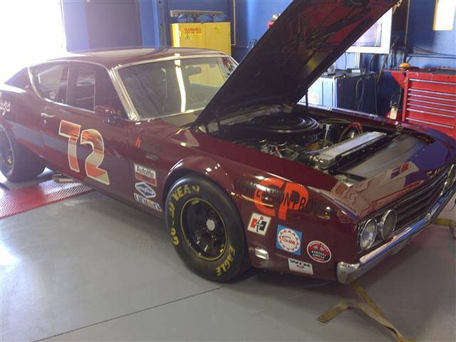 Photo of Rick Stanton's Boss 429 Goes to Dyno Wars at Shelby American