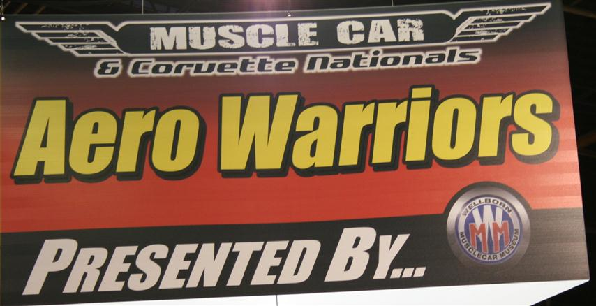 Photo of Aero Warriors Display at 2012 Muscle Car Corvette Nationals