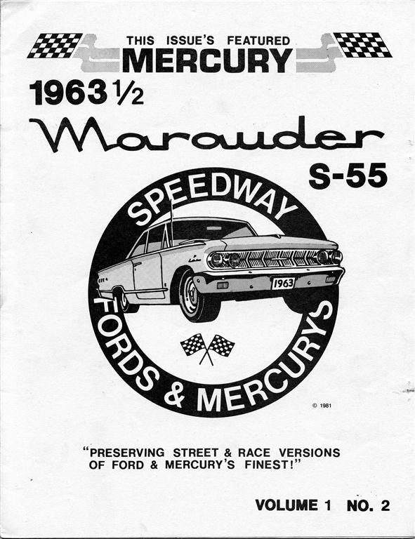 Photo of Speedway Fords & Mercurys-1963 1/2 Marauder