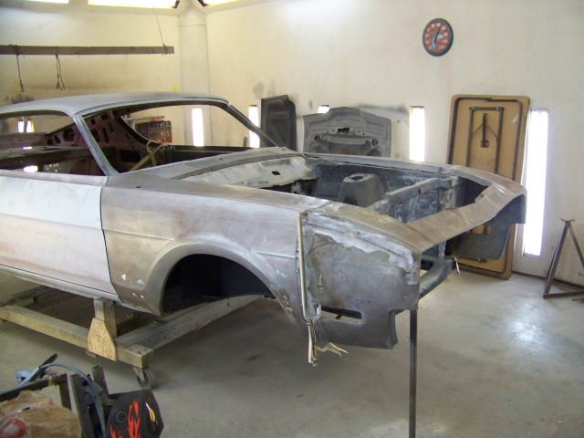 Photo of Building  or Repairing a 1969 Mercury Cyclone Spoiler II Fender by Chris Vick