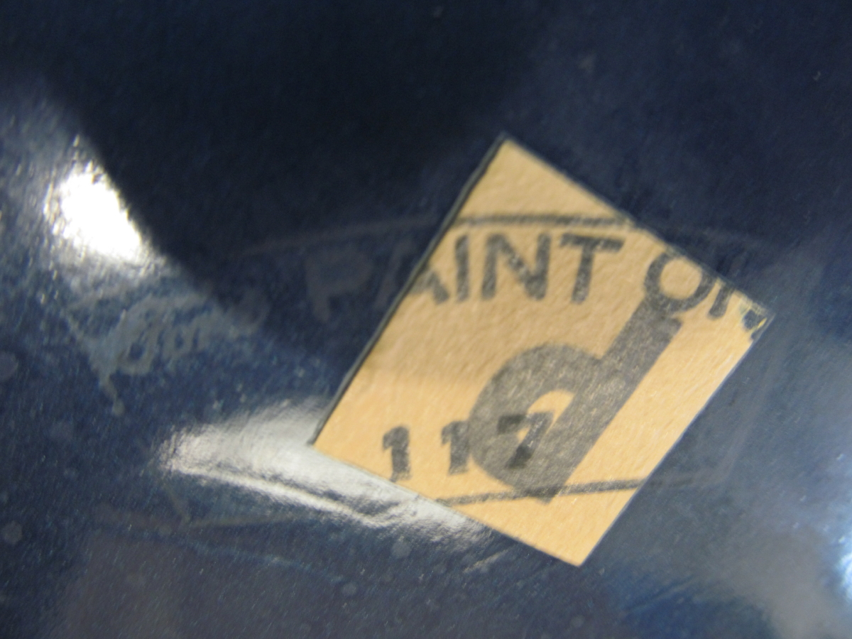 Photo of Trunk Markings