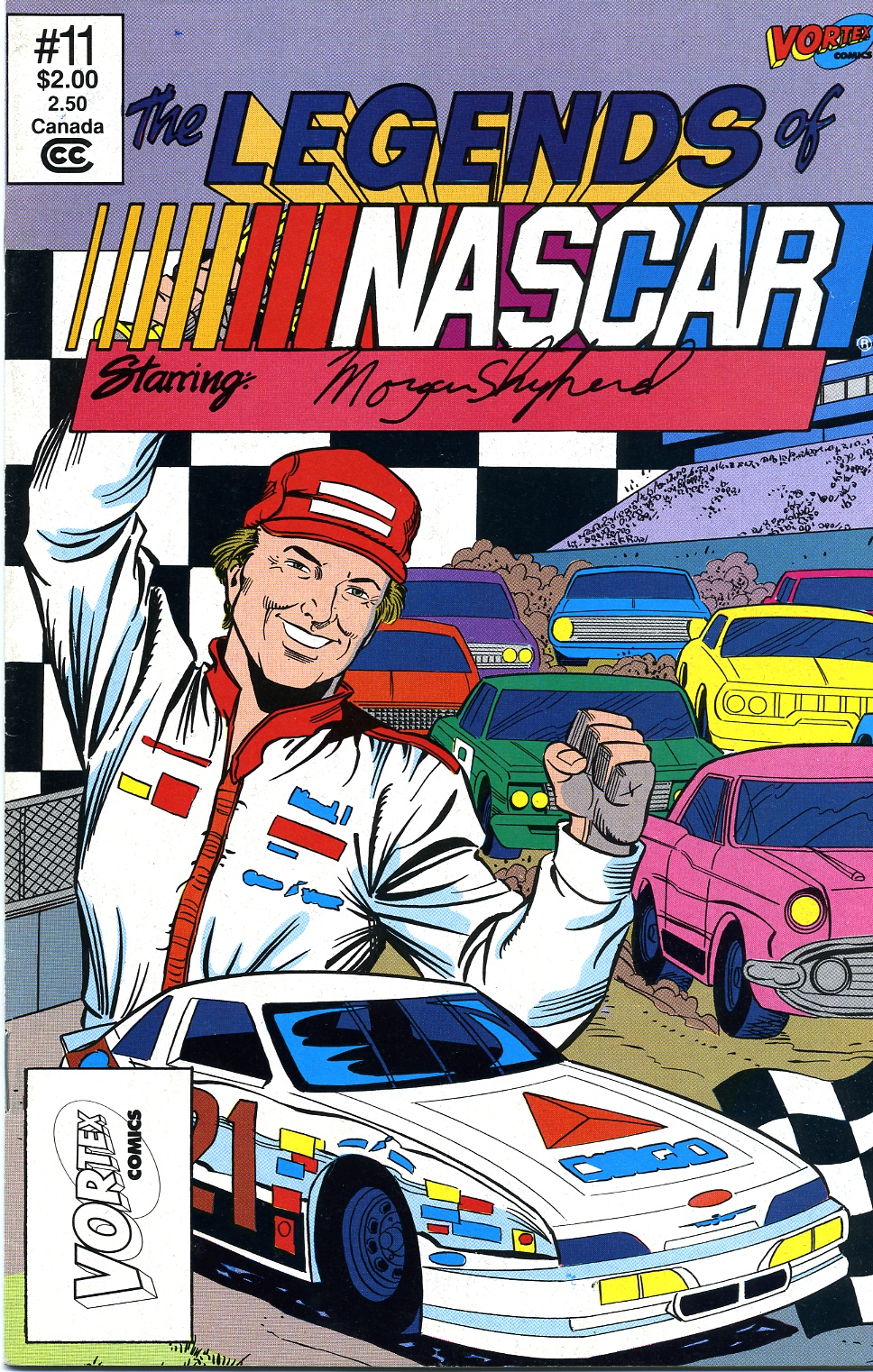Photo of Morgan Shepherd Comic; Part 1
