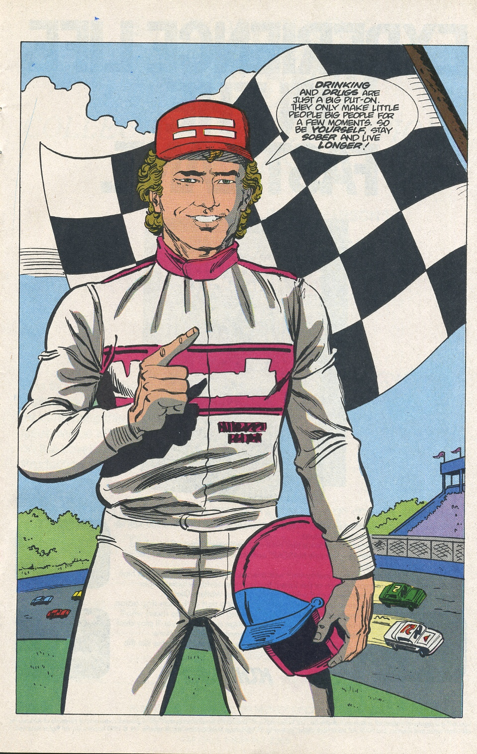 Photo of Morgan Shepherd Comic; Part 3 Conclusion